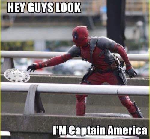 Superhero - HEY GUYS LOOK I'M Captain America