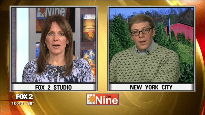 christmas tree expert comedian joe pera makes things awkward on midwest morning news shows