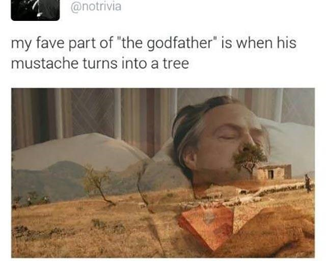 movies moustache the godfather image - 8994955520