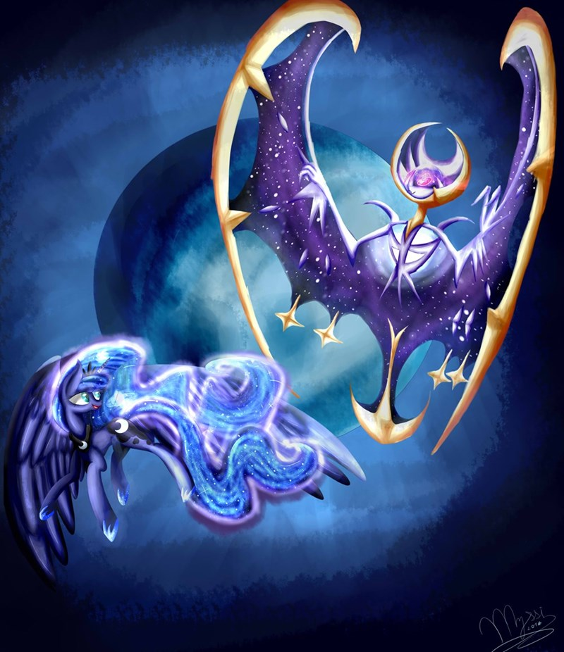 Pokémon pokemon sun and moon princess luna - 8995065600