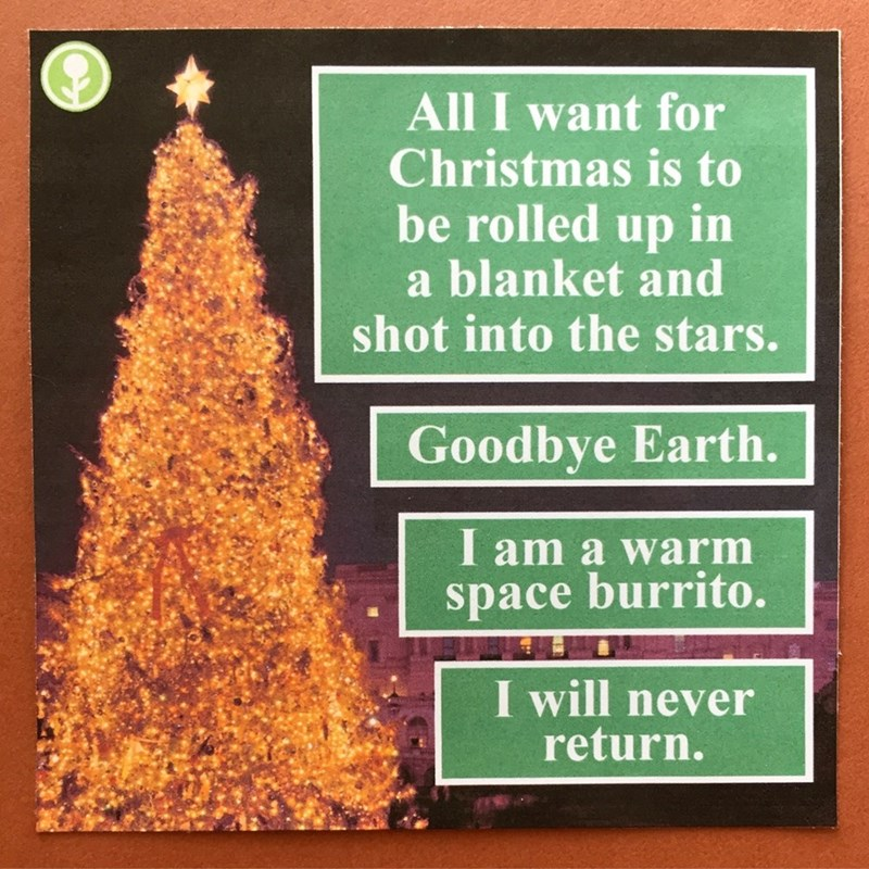 christmas prank space - 8995162624