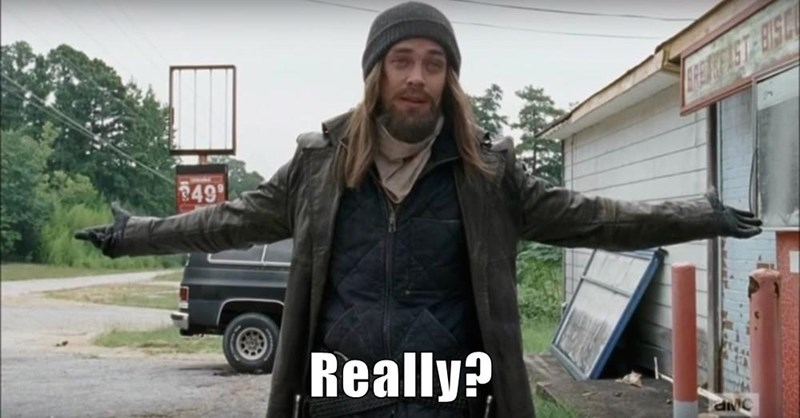 Another funny Walking Dead meme.