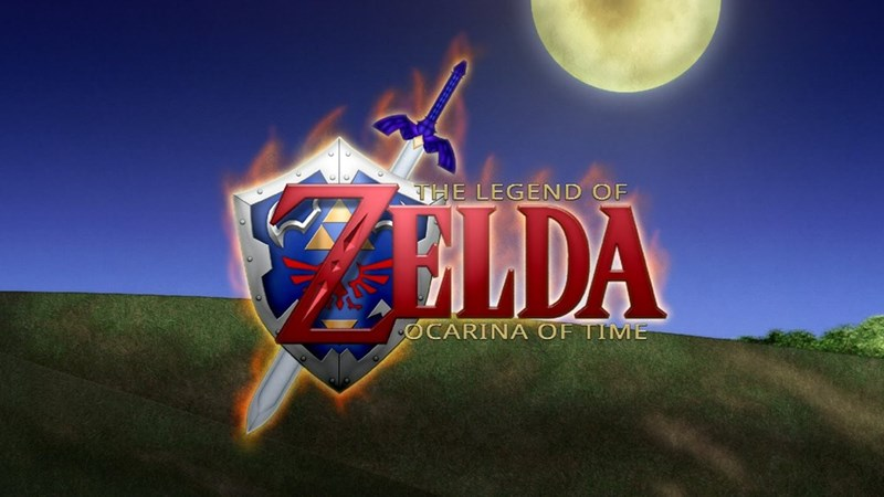 Action-adventure game - THE LEGEND OF LDA OCARINA OF TIME