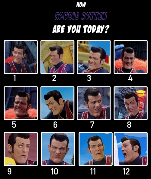 lazy town robbie rotten - 8995858944