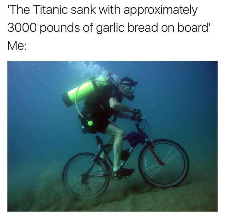 garlic Memes bread - 8995877888