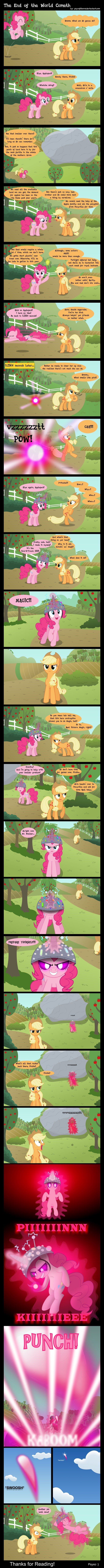applejack pinkie pie comic - 8996011776