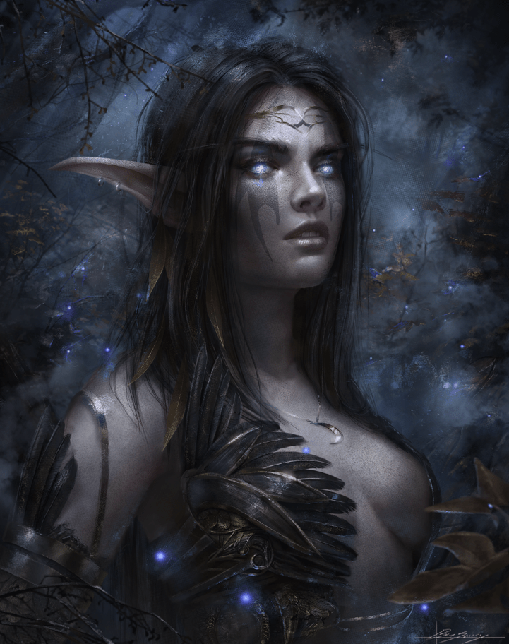 world of warcraft night elf - 8996504064