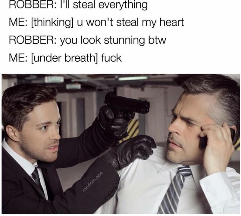 romance Memes robbery image - 8996526592