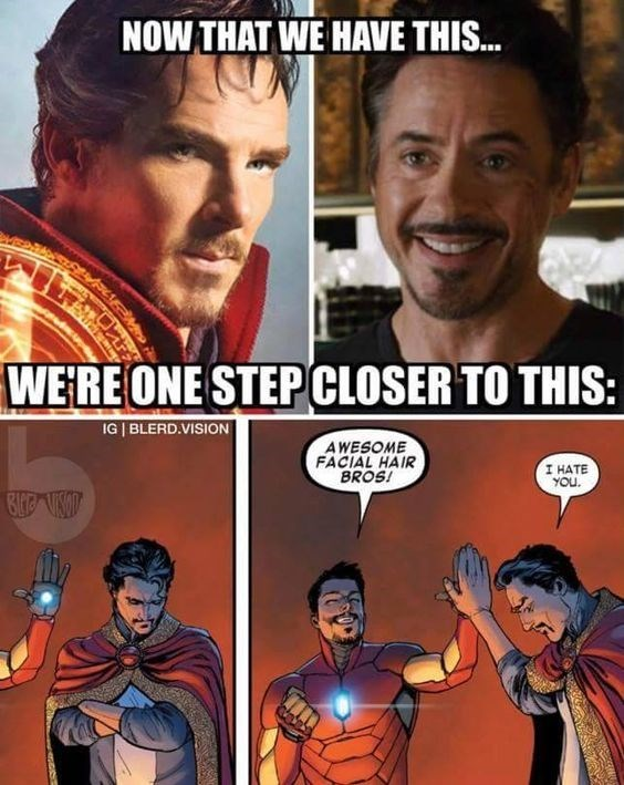 iron man,doctor strange