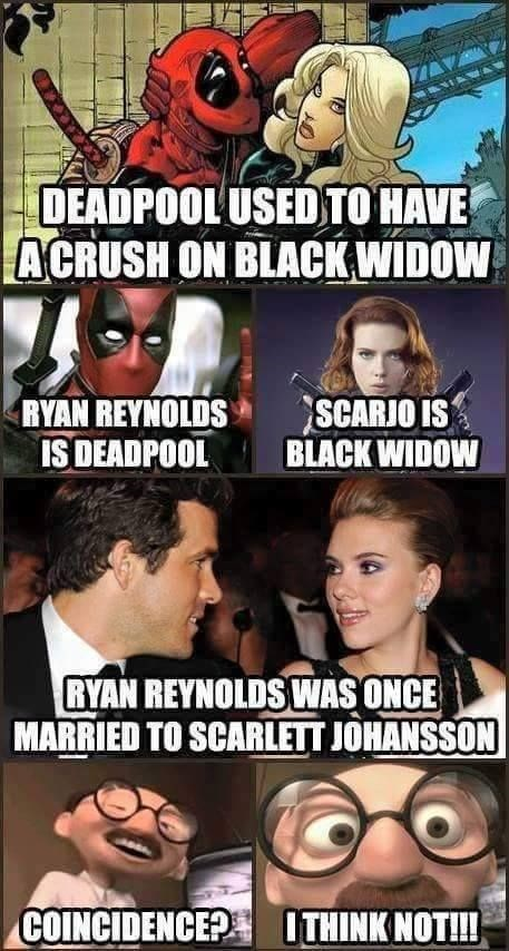 deadpool,Black Widow