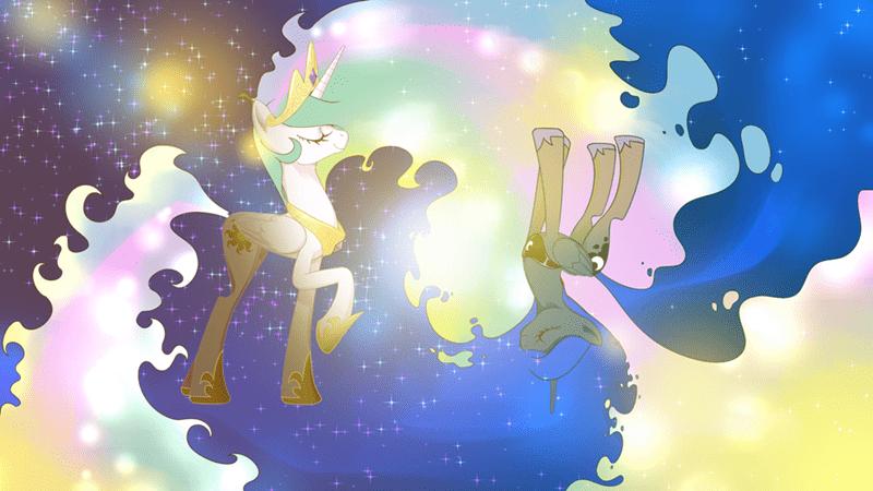 princess luna princess celestia - 8996633856