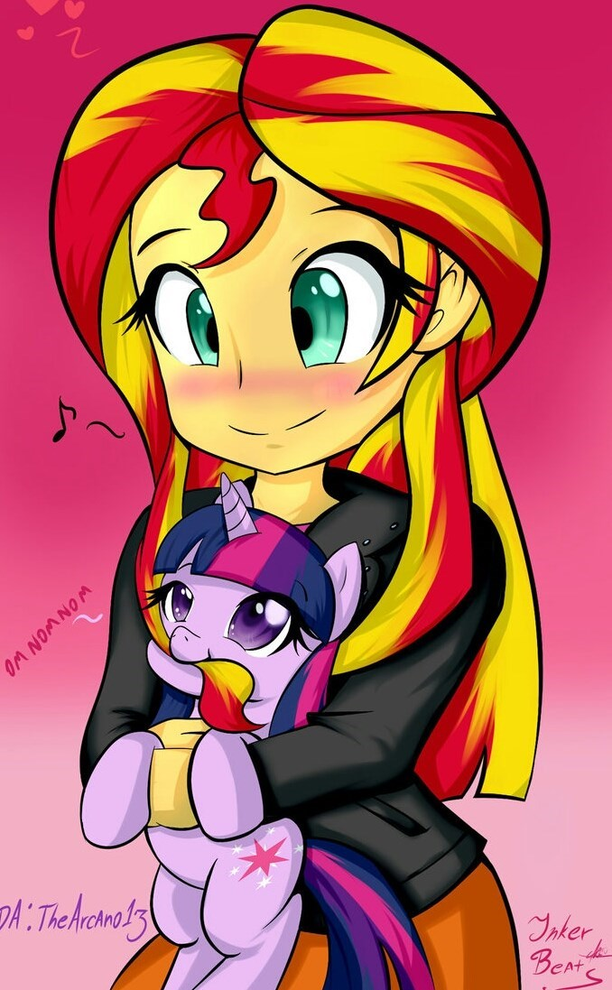 repost maybe equestria girls twilight sparkle sunset shimmer - 8996852480