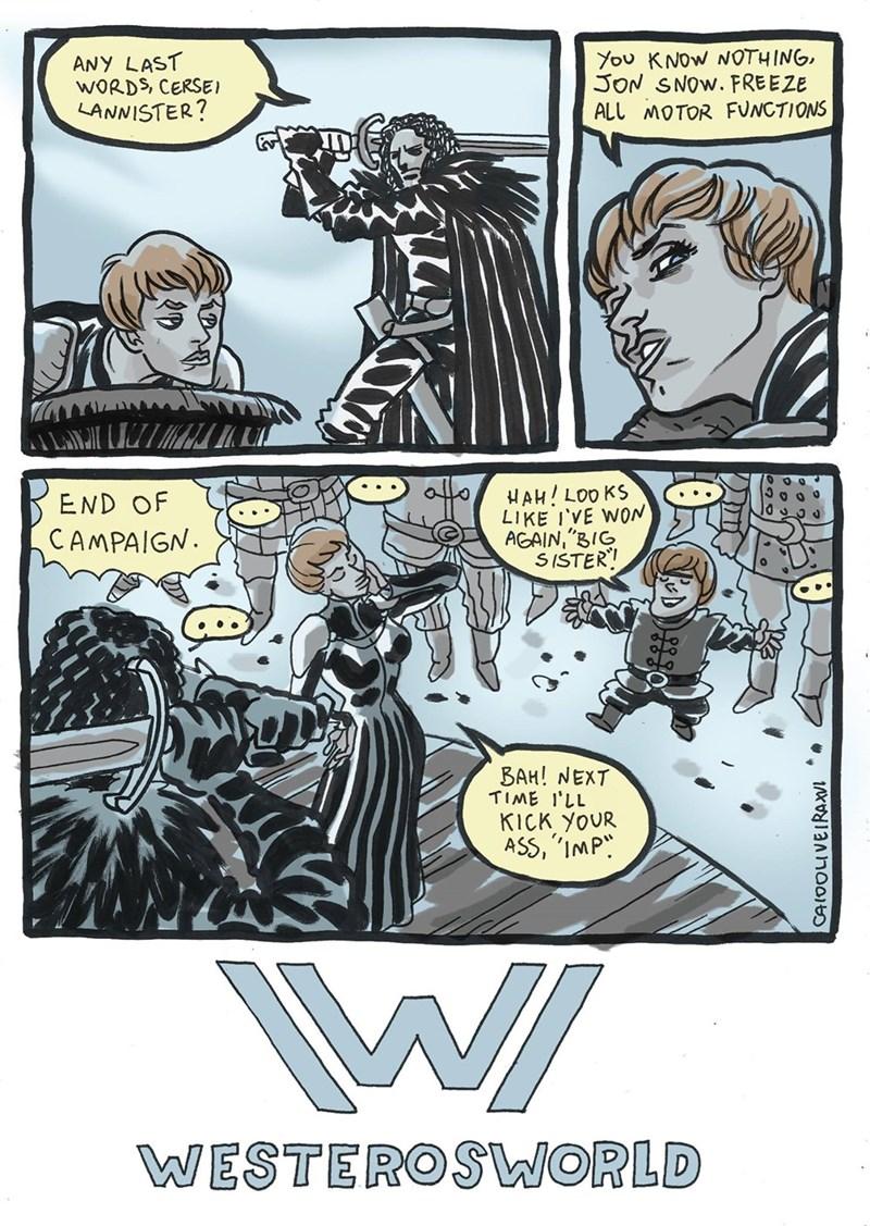 Westworld,Game of Thrones