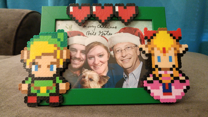 redditor receives tons of x box nintendo nes classic zelda video game stuff from bill gates on reddit secret santa
