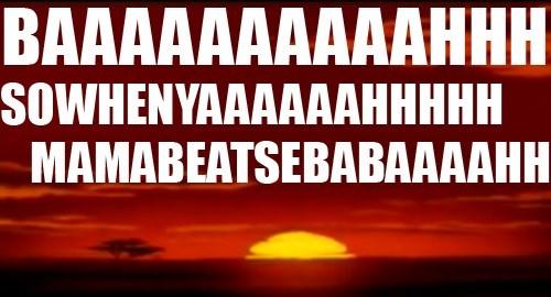 lyrics lion king funny image - 8996991232
