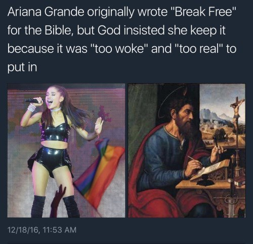 image wtf ariana grande I Knew It!