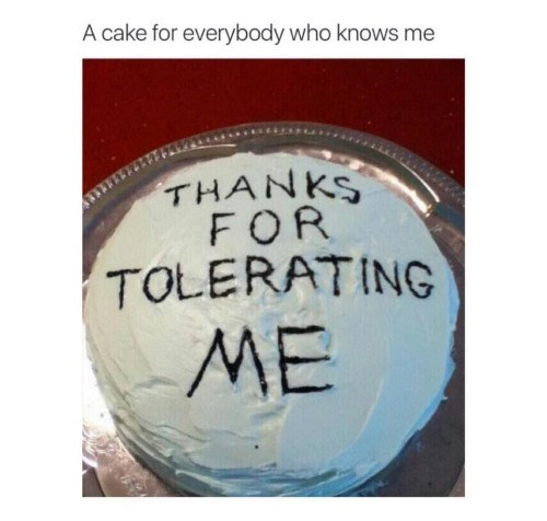 image cake self esteem