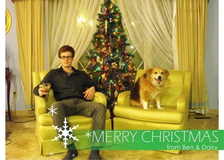 Christmas tree - *MERRY CHRISTMAS from Ben & Daisy
