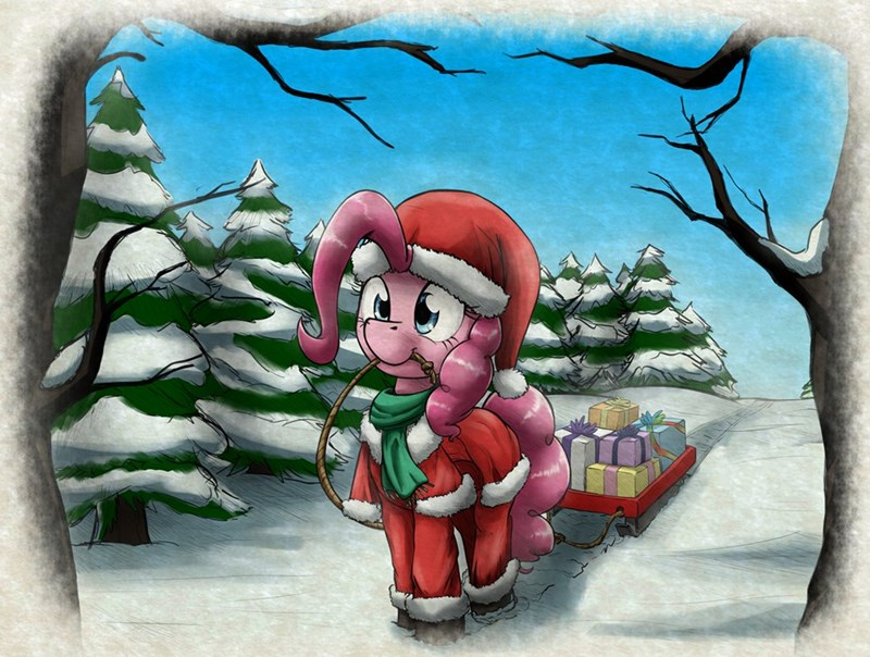 christmas hearths-warming-eve pinkie pie - 8997783040