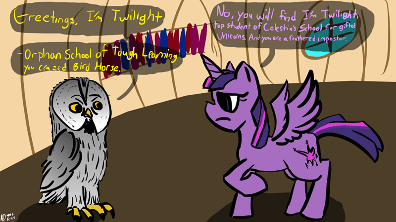 twilight sparkle guardians of ga'hoole - 8997896448