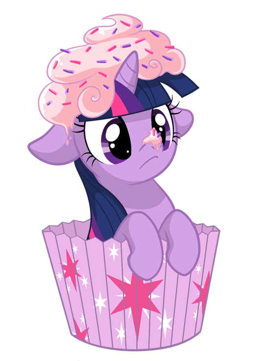 twilight sparkle cupcakes - 8998216192
