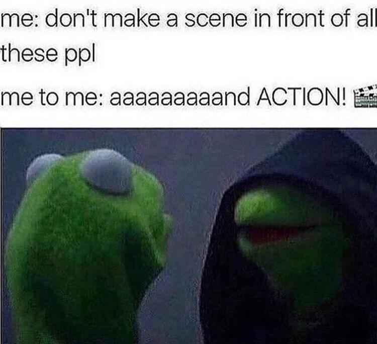 Memes evil kermit image - 8998443264