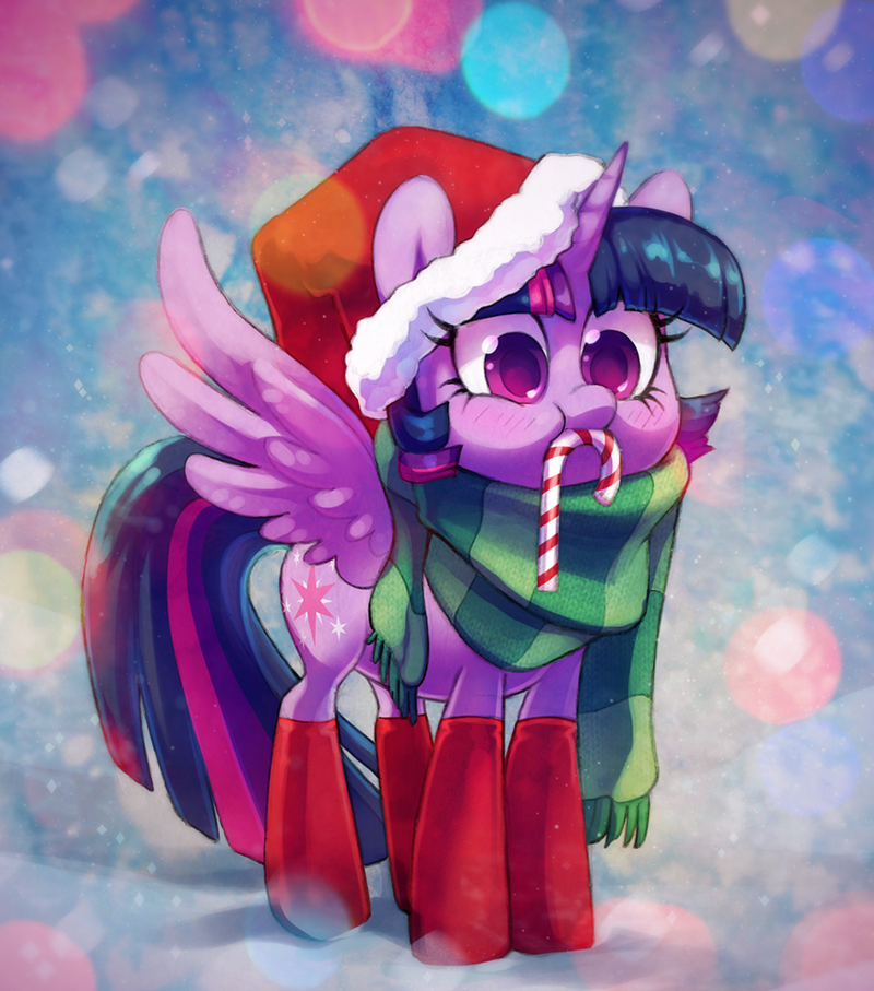 candy christmas hearths-warming-eve twilight sparkle - 8998476032