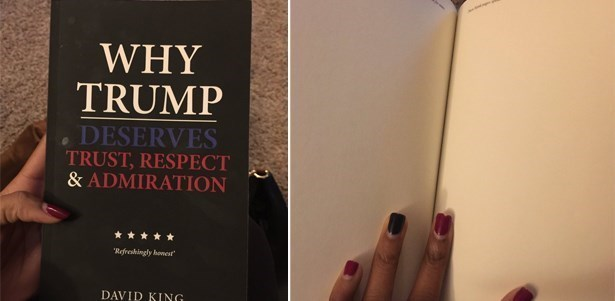 amazon selling empty book why trump deserves trust respect and admiration