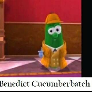 Animated cartoon - Benedict Cucumberbatch