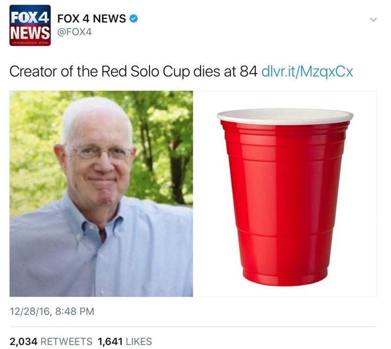 Red Solo Cup rip image - 8998922752