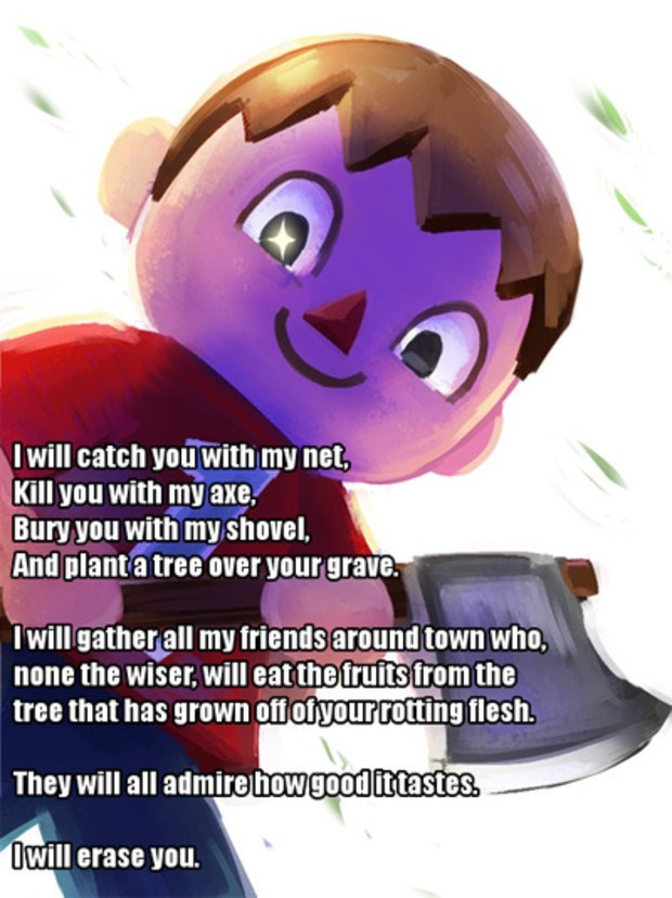 super smash bros,animal crossing