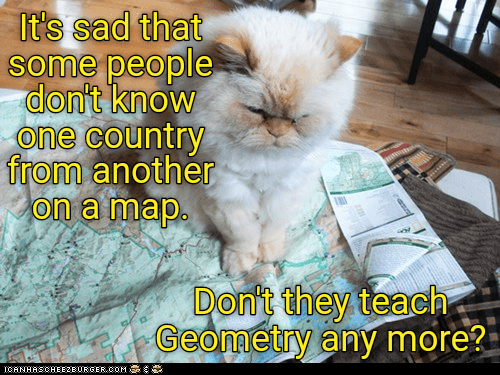 cat geometry teach country map caption - 8998978048