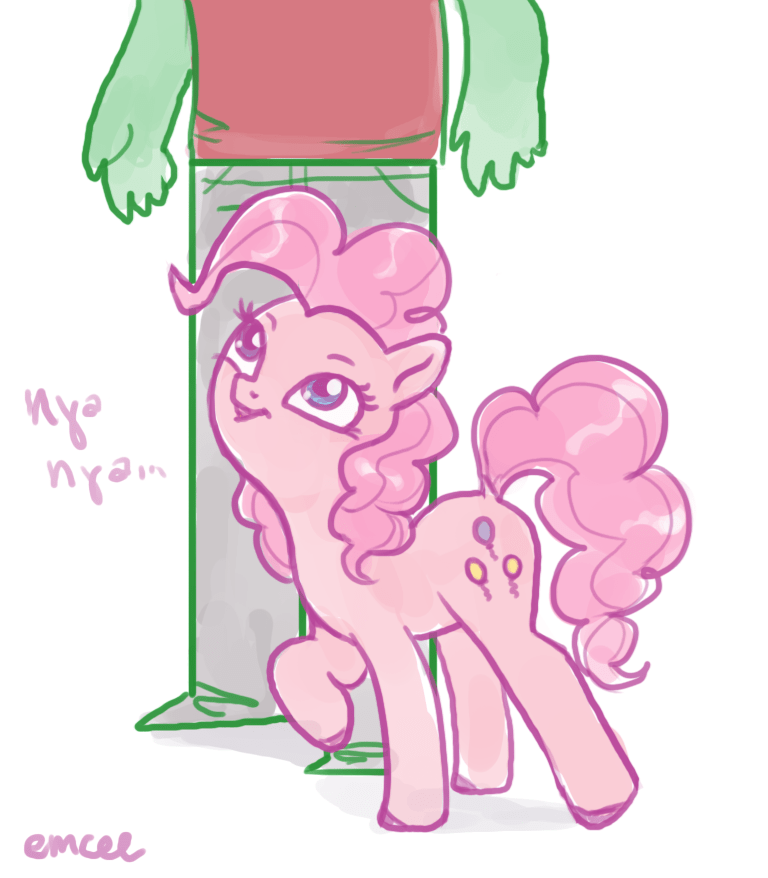 acting like animals anonymous pinkie pie - 8999298304