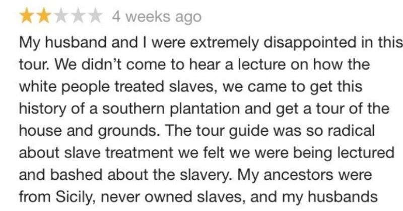 twitter social media ridiculous reviews racism FAIL - 8999429