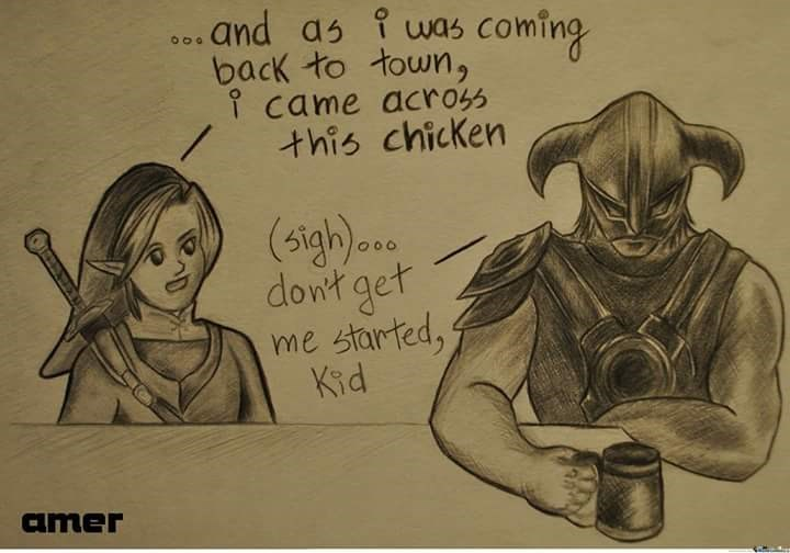 legend of zelda Skyrim