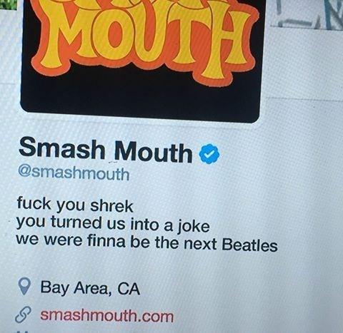 smashmouth shrek funny image - 8999847936
