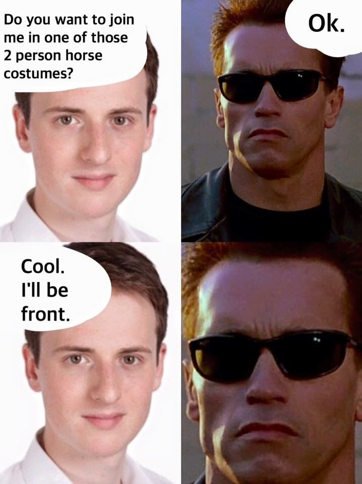 terminator Arnold Schwarzenegger Memes - 9000091904