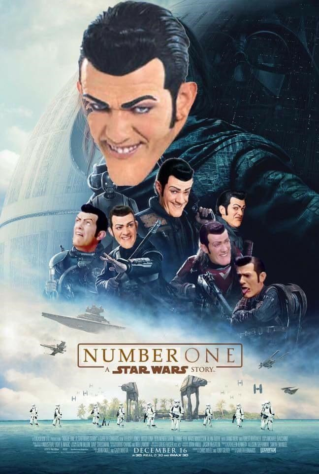 we are number one robbie rotten - 9000413184