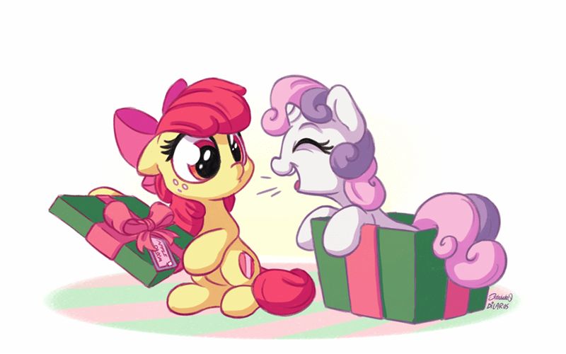 Sweetie Belle,apple bloom