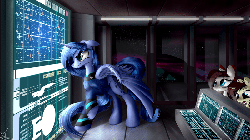 OC,princess luna,ponify,Star Trek
