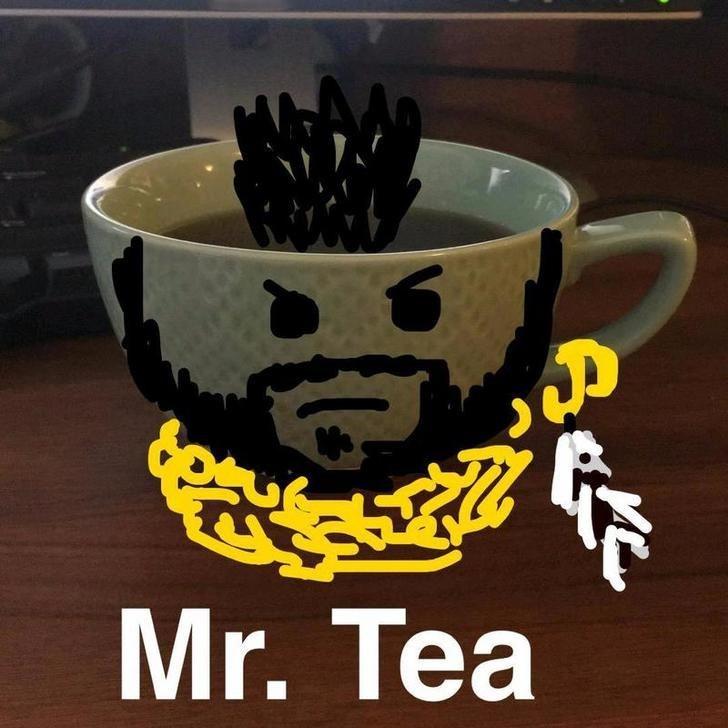snapchat pun - Cup - Mr. Tea