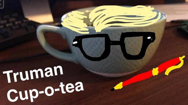 snapchat pun - Eyewear - Truman Cup-o-tea