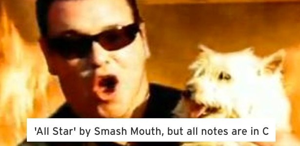 fail song smash mouth autotuned to c is bizarre terrible