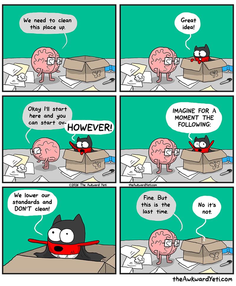 the awkward yeti heart and brain - 9001382144
