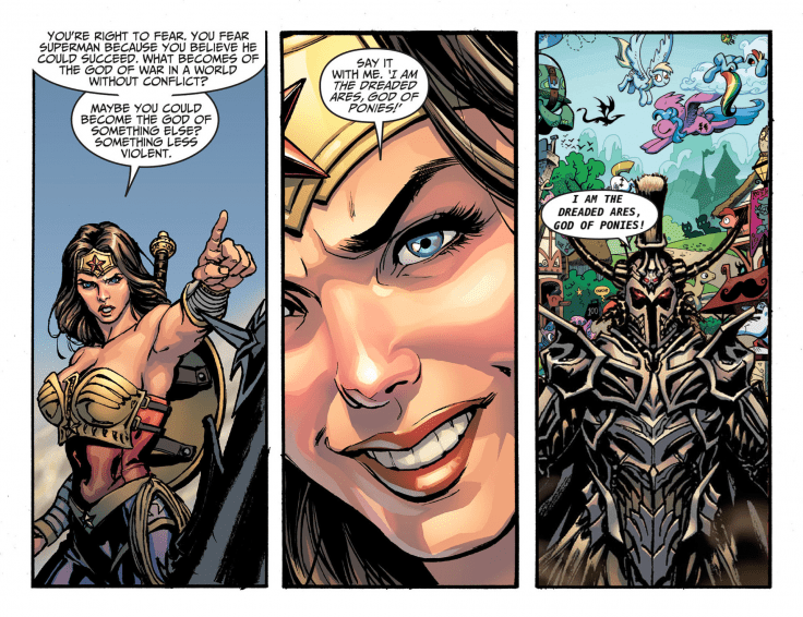wonder woman comics edit ares