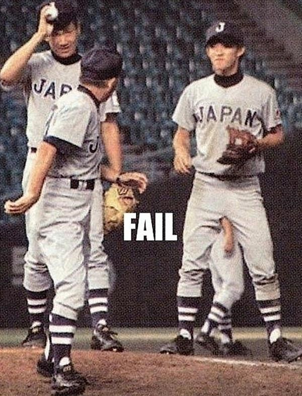 Baseball player - JAP JAPAN FAIL
