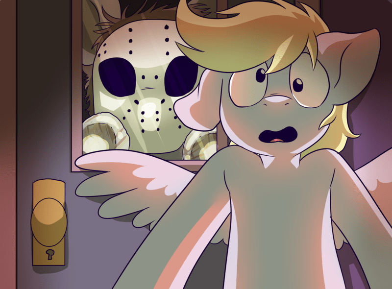 derpy hooves friday the 13th ponify - 9001723648