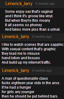 Funny screen grab of total poets on P0rnhub with some funny ones.