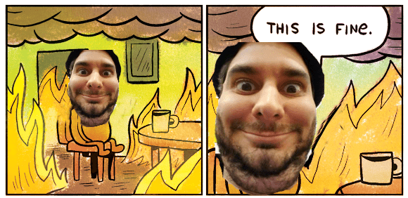 Cartoon - THIS IS FINe