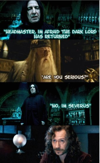Harry Potter harry potter memes dumb Severus Snape - 9001905664